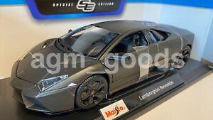 Maisto 1:18 Scale - Lamborghini Reventon - Black - Diecast Model Car
