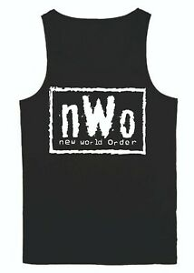 nWo Wrestling Vest LWO Elite Wolfpac Hollywood Small - 5XL