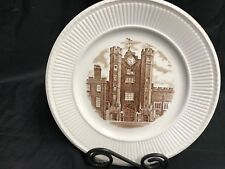 """Wedgwood 1941 Old London View Collector Plate ~  """"ST JAMES PLACE"""" ~ 10 1/2"""""""