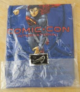 2013 San Diego COMIC CON T-SHIRT XL 75 years DC Comics SUPERMAN New in Package