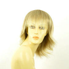 mid length wig women blond clear very light blond Wick ref: VANILLE 15T613 PERUK