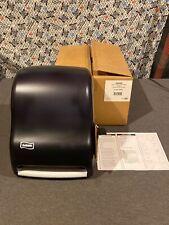 San Jamar® Lever Roll Towel Dispenser, Classic, Black Pearl, 12 1 759376134900