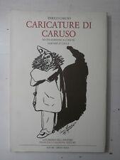 Raro libro Caricature di Caruso Edizione Tiratura limitata 1996