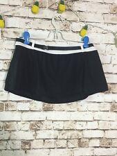 Nike Women's Sz 8 Black Athletic Swim Skirt Swimwear