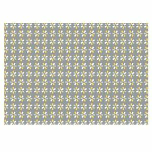 Unique High Quality Yellow/Grey Daisy Flowered Gift Wrap- (A3)-GP296