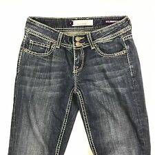 VIGOSS COLLECTION FIT BOOTCUT WOMENS DESIGNER JEANS SIZE 3