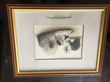 More details for framed glass fronted print of old english sheepdogs, robert j.may,24.5x18.5 inch