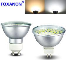 GU10 MR16 LED Spotlight Led Bulb 3528 SMD 8W 6W 4W Glass Lamp Light 220V110V