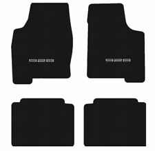 Porsche 928 Black Floor mat set with Silver 928 Licensed Porsche logo