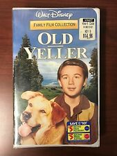 Old Yeller Walt Disney Family Film Collection BRAND NEW VHS Clamshell