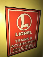 Lionel Trains Toy Store Framed Advertising Print Man Cave Sign