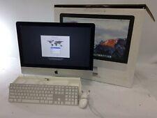 """Apple iMac A1418 i5-5575R 1TB HDD 8GB RAM 21.5"""" MK442LL/A KB/Mouse Catalina 2015"""