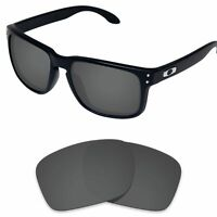 Tintart Replacement Lens for-Oakley Holbrook OO9102 Sunglasses Carbon Black(STD)