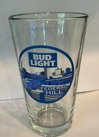 "Bud Light ""Federal Hill"" Baltimore MD 16 oz Pint Glass (rare & unique) BEER"
