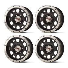 "🔥Genuine 4pcs TRD Black Wheels 16"" Beadlock Style & Center Caps for Tacoma🔥"