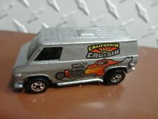 Hot Wheels Loose Silver California Cruisin Van w/Blackwall Wheels Real Nice !!