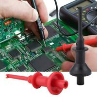 1 Pair UNI-T UT-C01 Multimeters Test Leads Extension Hook Probe Clip 1000V FZ