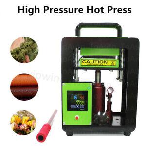 110V Personal 5 Ton Hydraulic Rosin Heat Press Machine Portable Oil Extractor