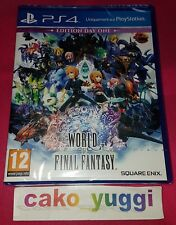 WORLD OF FINAL FANTASY EDITION DAY ONE SONY PS4 NEUF VERSION FRANCAISE
