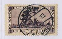 "SARRE / SAAR / SAARGEBIET - Yv.116 / Mi.117 mit "" ENSHEIM / * (SAAR) * "" Stempel"