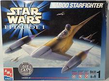 STAR WARS : THE PHANTOM MENACE : NABOO STARFIGHTER MODEL KIT MADE BY AMT (MI)