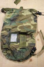 Military Surplus Camouflage Duffel Stuff Sack Bag, Camo, personal nylon  Qty. 1