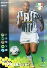 FOOTBALL CHAMPIONS 2003-04 David Trezeguet 043/100 Juventus ITA WIZARD