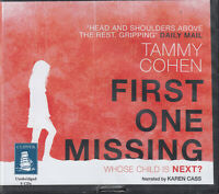 Tammy Cohen First One Missing 9CD Audio Book Unabridged Taut Crime Thriller