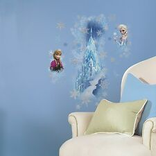 FROZEN ICE PALACE GiaNT WALL DECALS Disney Princess CASTLE Anna Elsa Stickers