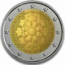 Frankrijk 2018 - Korenbloem - 2 euro CC - UNC
