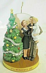 Hallmark Ornament 50th Anniversary It's A Wonderful Life 1946-1996 FREE SHIP