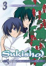 Sukisho Vol 3 Cruel Intentions DVD New Anime Region 1