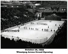 1950 Grand Opening Winnipeg Arena Winnipeg Manitoba 8 X 10 Photo Free Shipping