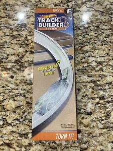 Hot Wheels Track Builder Turn It Curved Track Set F  New In Box