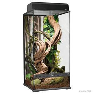 """Exo Terra Natural Glass Terrarium Small X Tall 18"""" x 18"""" x 36"""""""
