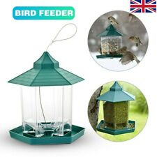 Wild Bird Feeder Seed Villa Garden Outdoor Feeding Waterproof Gazebo Hanging Uk