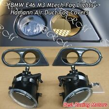 OE Style Fog Lights + Hamman Covers Fit 01-06 BMW E46 M3