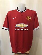 Manchester United 2014/2015 Home Size 2XL Nike soccer shirt jersey football XXL