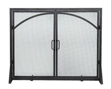 Achla Black Door Screen Wrought Iron- X800280 Clean-Out Door NEW
