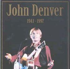 JOHN DENVER Live 1943-1997 (CD, Oct-1997, Riviere) Made In Austria 18 Songs
