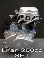 LIFAN 200CC 5 SPEED ENGINE MOTOR CDI MOTORCYCLE BIKE ATV GO KART V EN25-SET