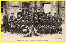 cpa 76 - GRAND QUEVILLY (Seine Maritime) La FANFARE des HAUTS FOURNEAUX MUSIQUE