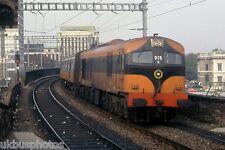 CIE 015 Dublin Tara Street 1986 Eire Rail Photo