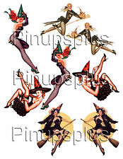 Sexy Witch Waterslide Pinup Girl Guitar Decals #87 from Pinupsplus
