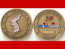Korean War Veteran Military Challenge Coin  Ms_St