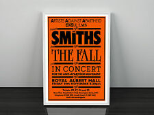 The Smiths and The Fall Concert Poster Print