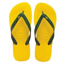 Sandalias y chanclas de mujer amarillos Havaianas