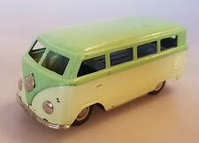 Auto DUX VW T1 Bus Fensterbus PKW Blechauto m.Uhrwerk Blechspielzeug 50er Jahre
