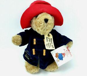 "Paddington Bear 10"" Plush 40th Anniversary Red Hat Blue Coat Eden"
