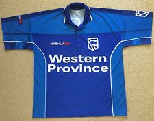 Nashua Western Province South Africa Cricket Shirt Jersey Mens Size L VGC